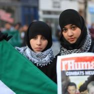 Manifestations pour la paix en Palestine