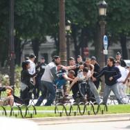 Pro-israéliens et pro-palestiniens s'affrontent sur les Champs Elysées
