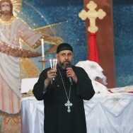 Messe de Noël marquée par l'inquiétude à l'Eglise copte de Villejuif