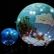 Les globes de Coronelli à la Bibliothèque François Mitterrand
