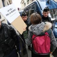 Paris : Manifestation de soutien à la Grèce