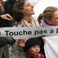 Manifestation à Paris de catholiques traditionalistes