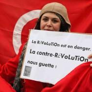 Manifestation devant l'Ambassade du Maroc