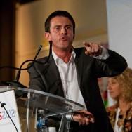 Primaire socialiste : Meeting de fin de campagne de Manuel Valls à Évry