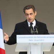 Nicolas Sarkozy promet une nouvelle loi pénalisant la négation du génocide arménien