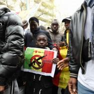 Rassemblement et marche à Paris pour la paix au Mali