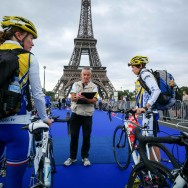 Triathlon de Paris 2012 : Jessica Harrison  remporte la course Elite Femmes