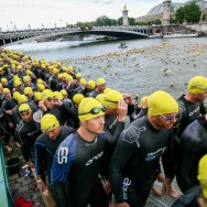 4 500 triathlètes disputent l'Open Courte Distance du Triathlon de Paris