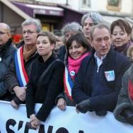 Les élus manifestent pour défendre le « mariage pour tous »