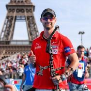 Paris : le Danois Martin Damsbo remporte le titre mondial du tir à l'arc à poulies