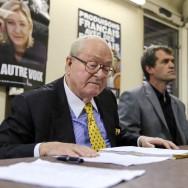 Municipales : Jean-Marie Le Pen lance la campagne frontiste à Champigny-sur-Marne
