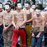 « Jour de colère » à Paris : manifestation anti-Hollande