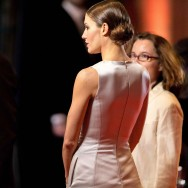 César 2014 : Natasha Andrews assiste à la cérémonie