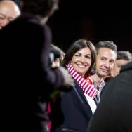 Paris : Anne Hidalgo fête sa victoire aux municipales