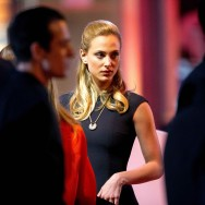 César 2014 : Nora Arnezeder assiste à la cérémonie