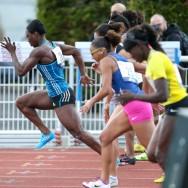 Montgeron : Myriam Soumaré remporte le 250m