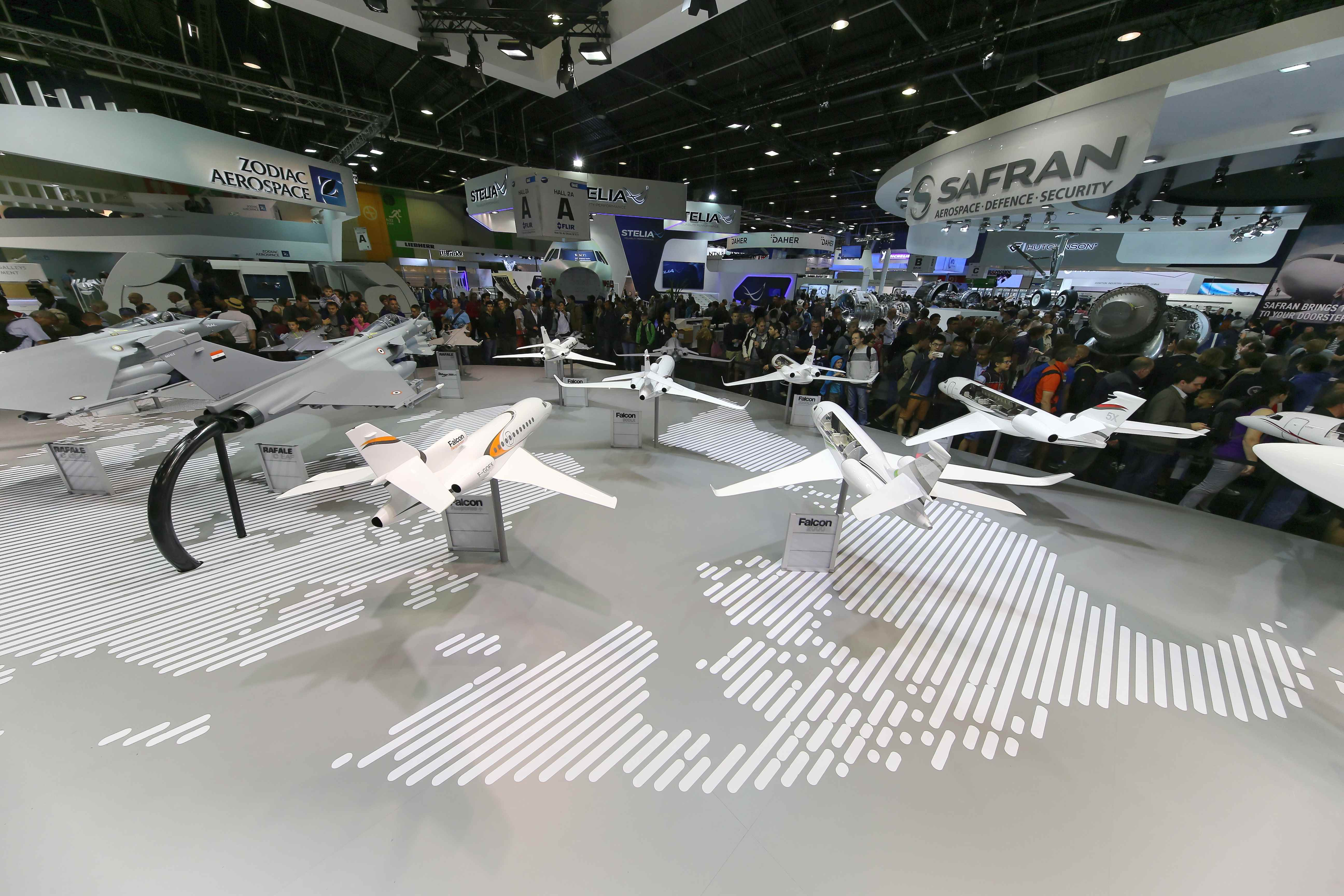 Le salon du bourget une vitrine de l industrie a ronautique - Salon aeronautique du bourget 2015 ...