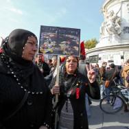 """Attentat d'Ankara : des milliers de manifestants à Paris contre la """"politique de guerre"""" d'Erdogan"""