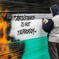 Paris : Manifestation pro-palestinienne place de la République