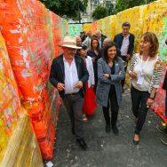 Paris : Anne Hidalgo inaugure BiodiversiTerre