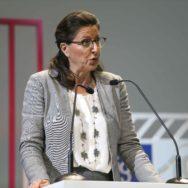 Agnes Buzyn auprès de la Ligue contre le cancer.