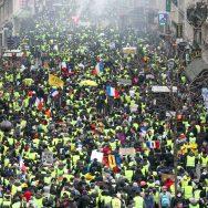 « Gilets jaunes » : 84 000 manifestants en France, comme samedi dernier.