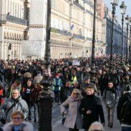 """CGT et """"gilets jaunes"""" à Paris : 14.000 manifestants selon Occurence."""
