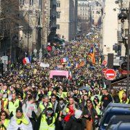 «Acte 14» des «gilets jaunes» : 41.500 manifestants ont défilé en France.