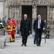 Incendie de Notre-Dame de Paris : l'émotion des personnalités.