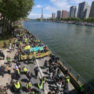 """""""Gilets jaunes"""" : la mobilisation marque le pas avant le 1er-Mai."""