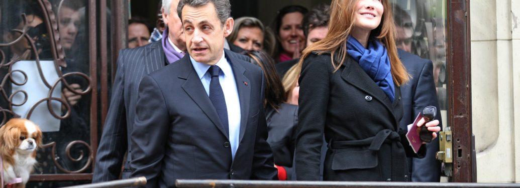 Présidentielle : le couple Sarkozy se rend aux urnes à Paris
