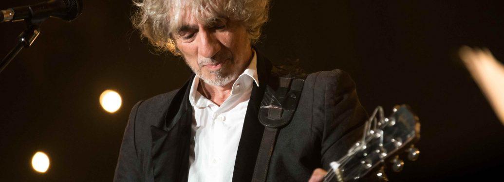 Louis Bertignac sur scène à Paris