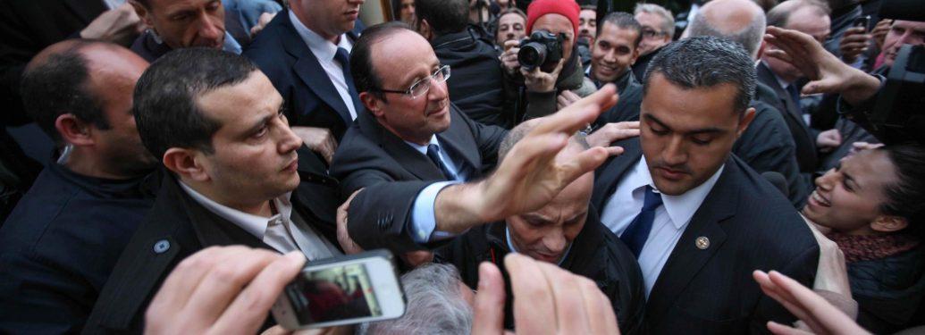 A Aulnay-sous-Bois, Hollande tente de renouer avec les quartiers populaires