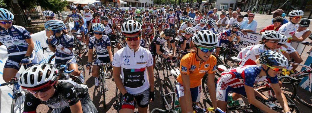 78 cyclistes sur la Route de France féminine