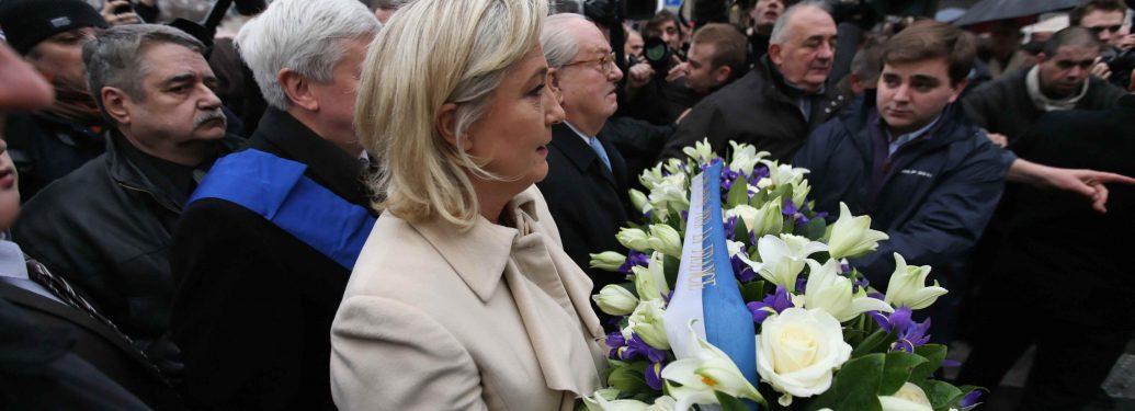 Jean-Marie Le Pen et Marine Le Pen,