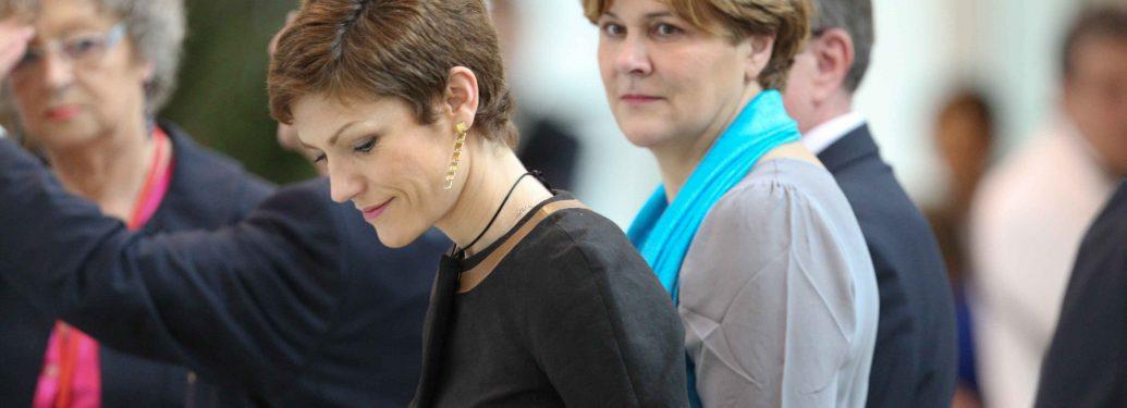 Chantal Jouanno et Dominique Voynet réunies