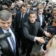 Nicolas Sarkozy au Salon de l'agriculture 2009
