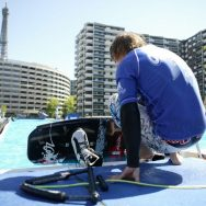 Du wakeboard au pied de la tour Eiffel !