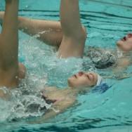 Les sirènes de Vallerey s'affrontent aux championnats de natation synchronisée