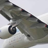 L'Airbus A 380 star du Salon international de l'aéronautique et de l'espace du Bourget 2009