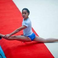 Tournoi de gymnastique féminine à Combs la Ville