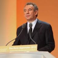 François Bayrou lance la campagne du Modem pour les élections régionales
