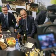 Bain de foule agricole pour Jacques Chirac