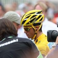 Les coureurs du Tour de France vus de près, pour l'étape finale 2010