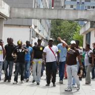 Rassemblement de soutien aux expulsés de La Courneuve