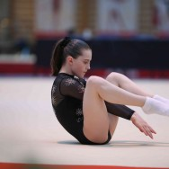Des gymnastes s'affrontent au 14e Tournoi international de Combs-la-Ville