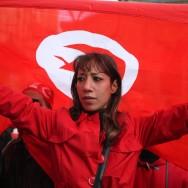 Manifestations de joie et d'émotion des Tunisiens de France