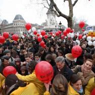 Des milliers d'anti-avortement manifestent à Paris