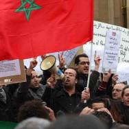 Rassemblement de soutien au peuple marocain