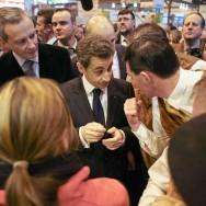 Nicolas Sarkozy inaugure le 48ème Salon de l'Agriculture